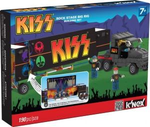 Kiss camión escenario