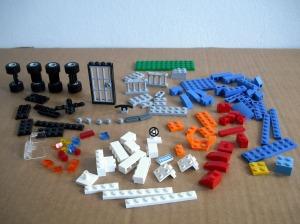 Inventario de piezas del set Lego 4636