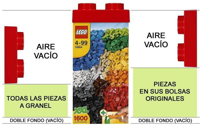 Lego Torre Creativa 10664 muy vacío