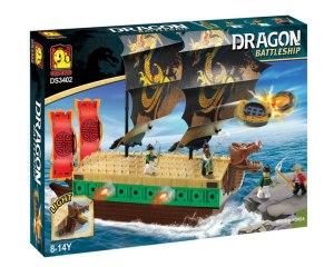 Oxford Barco Dragón