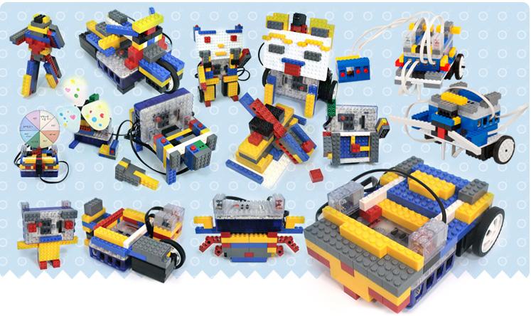 Robo Kids sistema robótico compatible con Lego