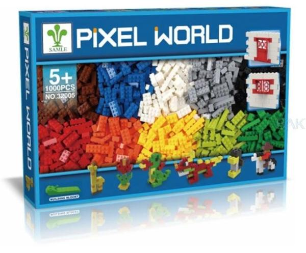 pixel world ladrillos compatibles